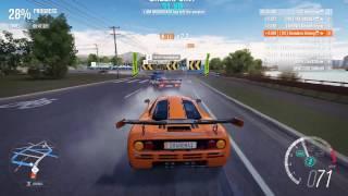Forza Horizon 3 PC - Mclaren F1 [S1 Class] Multiplayer Race Gameplay + Top 10 Rivals