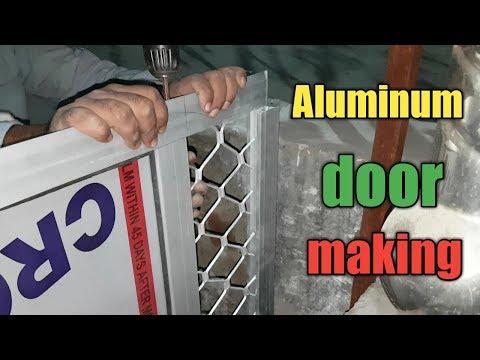 Make A Door Aluminum | How To Make Aluminum Door