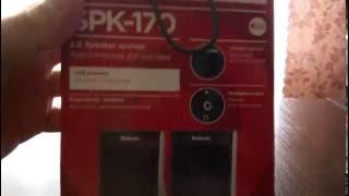 Обзор колонок defender SPK-170