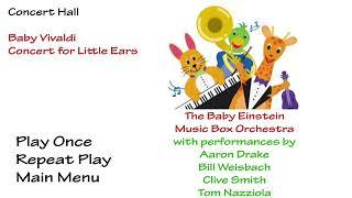 Baby Einstein Baby Vivaldi Discovering Music (2002) - Fanmade DVD Menu