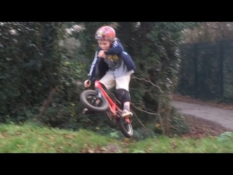 Bike skills with Harry Schofield 5yrs old