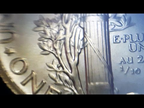 Centennial Gold Mercury Dime: Up Close & Personal in 4K