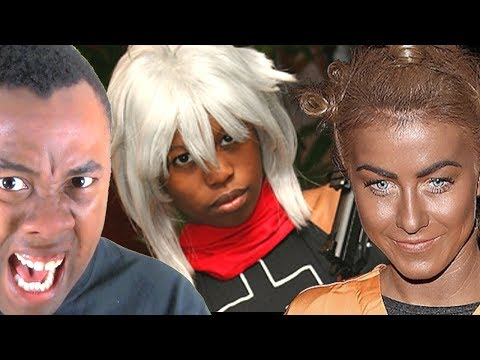 Is It OK To COSPLAY As A DIFFERENT RACE? : Black Nerd RANTS