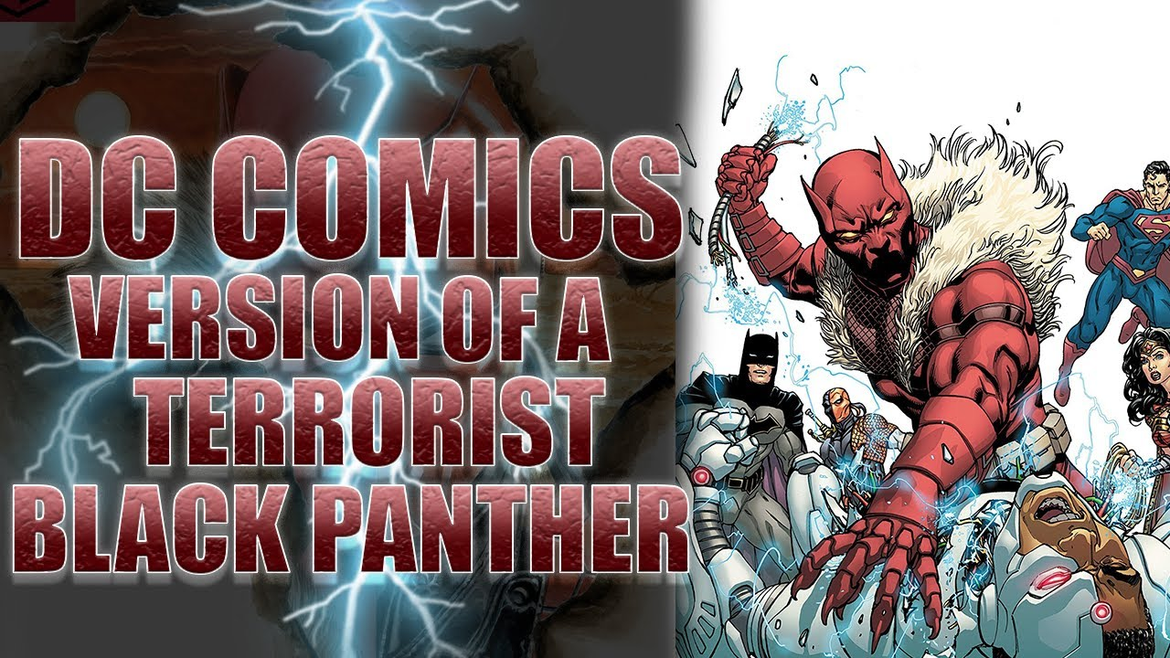 Red Lion: DC's Extremist Version of Black Panther