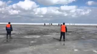 Рятування рибалок у Юрьевецком районі (відео ГУ МНС Росії по Івановській області)