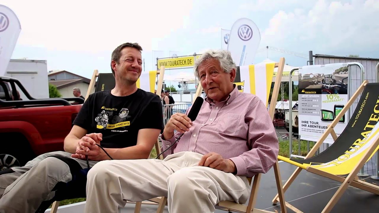 Touratech Travel Event 2015 Interview with Ted Simon