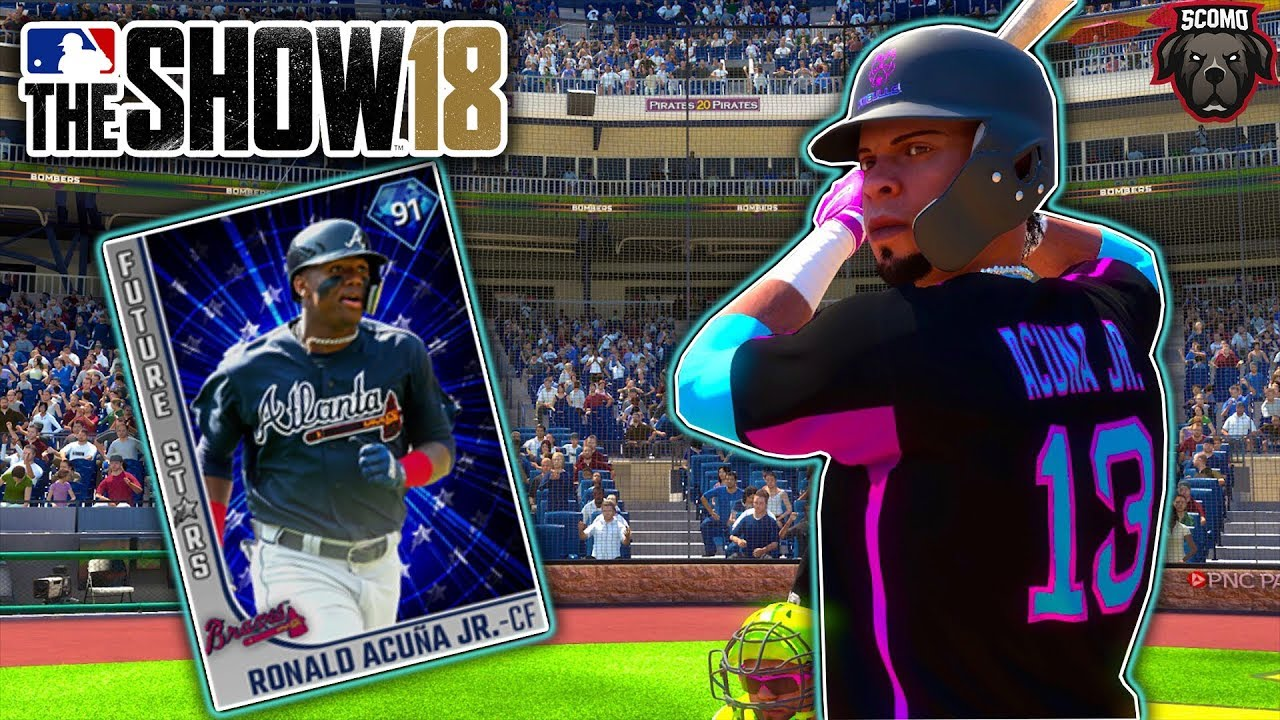 Nail Biter Ending Ronald Acuna Jr Debut Mlb The Show 18 Gameplay