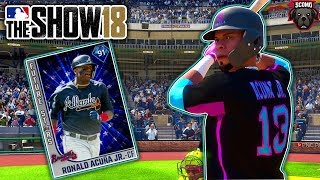 Nail Biter Ending! Ronald Acuna Jr Debut! MLB The Show 18 Gameplay