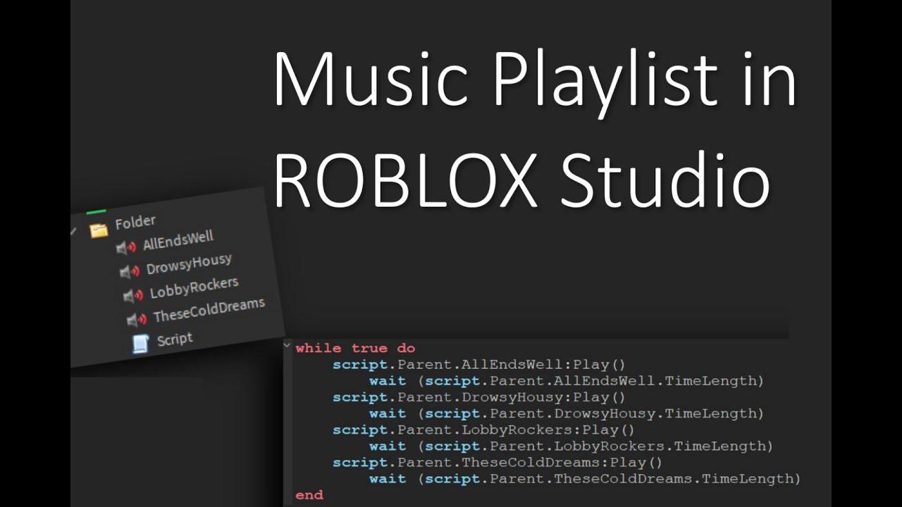 Music Playlist Roblox Studio Tutorial Ep 1 Youtube