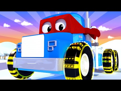 The winch truck - Carl the Super Truck - Car City ! Cars and