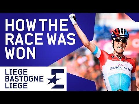 Liege-Bastogne-Liege 2018 | How The Race Was Won | Cycling | Eurosport