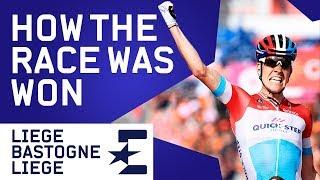 Liège-Bastogne-Liège 2018 | How The Race Was Won | Cycling | Eurosport