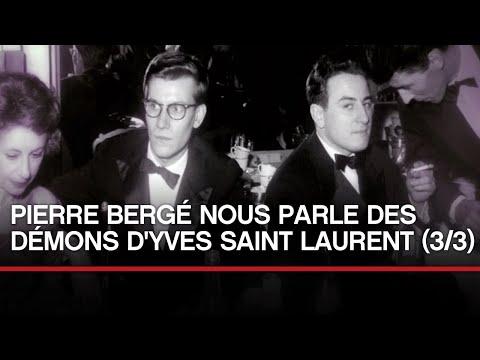 [INEDIT] Pierre Bergé nous parle  des démons d'Yves Saint Laurent (partie 3)