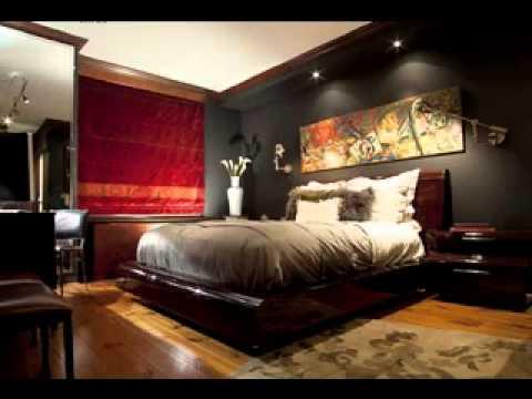 Easy DIY Mens bedroom design decorating ideas - YouTube on Guys Small Bedroom Ideas  id=46346