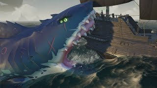 MEGALODON! Sea of Thieves - Hungering Deep Boss