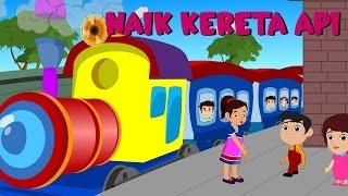 Naik Kereta Api Tut Tut Tut | Lagu anak TV | Riging a Train Song in Bahasa Indonesia