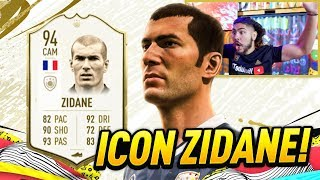 OMG I GOT ICON ZIDANE!! FIFA 20