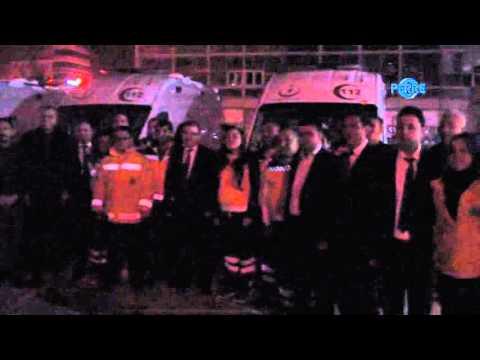 Ambulans Dağıtımları Yapıldı