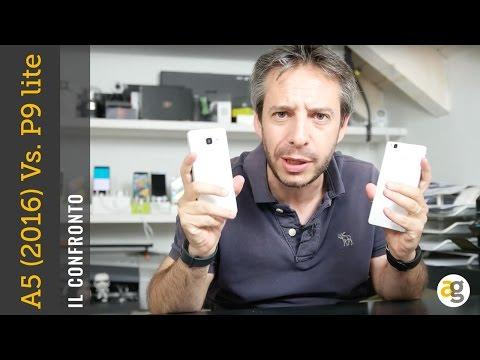 Samsung A5 2016 vs Huawei P9 lite confronto