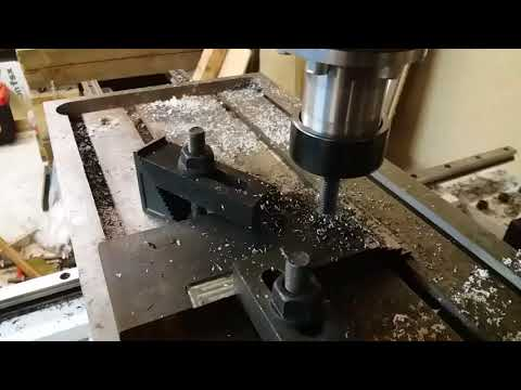 DIY CNC milling machine, how it was made.