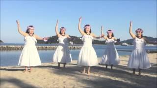 お天気がよかったので、瀬戸内海をバックに「瀬戸の花嫁」を踊ってきました♪(2015年10月撮影)
