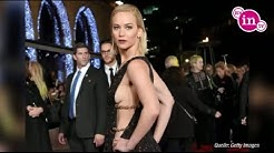 "Jennifer Lawrence Sideboob bei ""Panem""-Premiere"