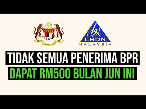 Tidak Semua Penerima BPR Dapat Tambahan RM500 Atau One-off RM500 | SAJE SEMBANG