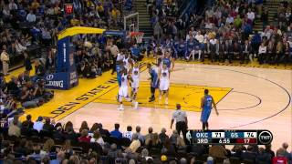 Oklahoma City Thunder vs. Golden State Warriors Full Highlights 12.18.2014