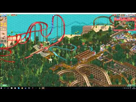 RCT2 - Botany Breakers Time Lapse