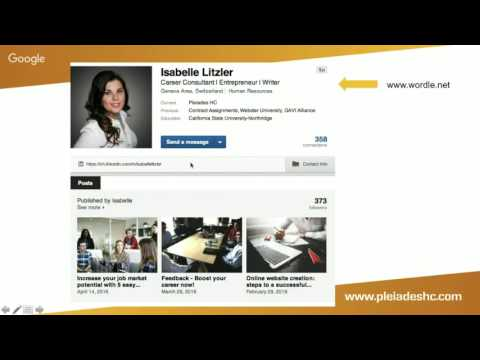 Free webinar: LinkedIn your job search partner