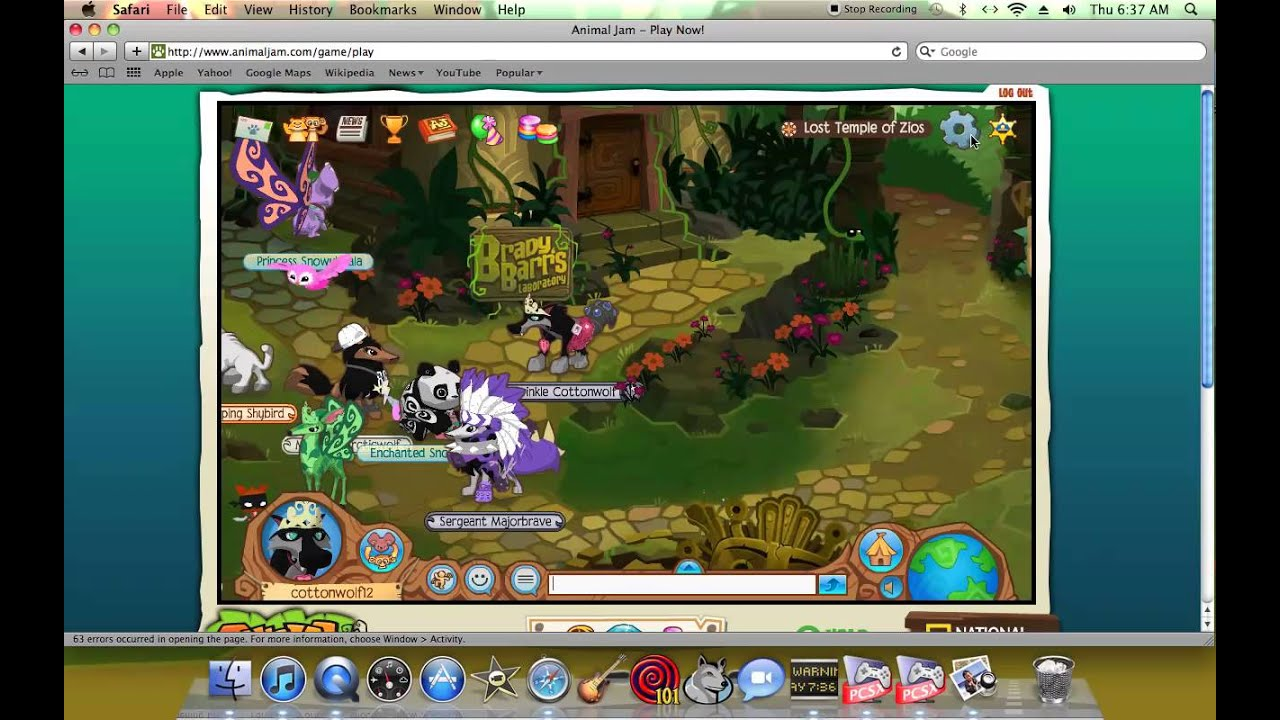 Coloring pages animal jam - Animal Jam Coloring Pages