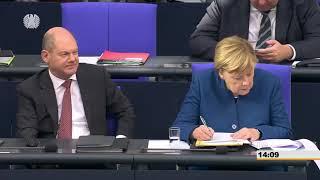 """Sahra Wagenknecht wirft Merkel Totalversagen vor - """"Skrupellos und eine Strafe fürs Land"""""""