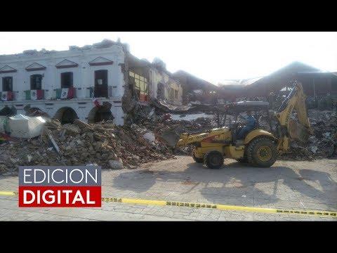 Evacuaciones y destrucción en Chiapas, México, tras terremoto de magnitud 8.2