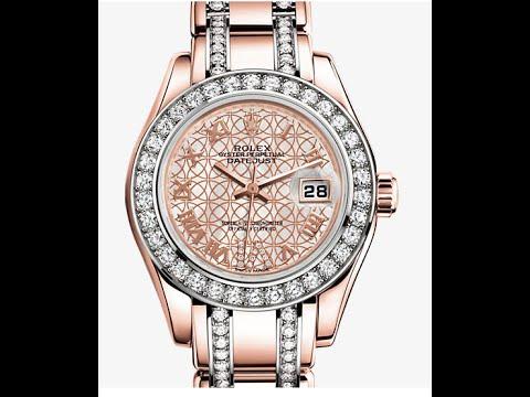 ROLEX OYSTER WOMAN элитные женские часы!! Скидки! - YouTube