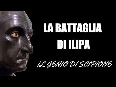 La battaglia di Ilipa. Scipione surclassa i cartaginesi