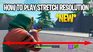 How To Get Fortnite NEW STRETCHED RESOLUTION *After Patch* Season 9   Fortnite MORE FOV Glitch