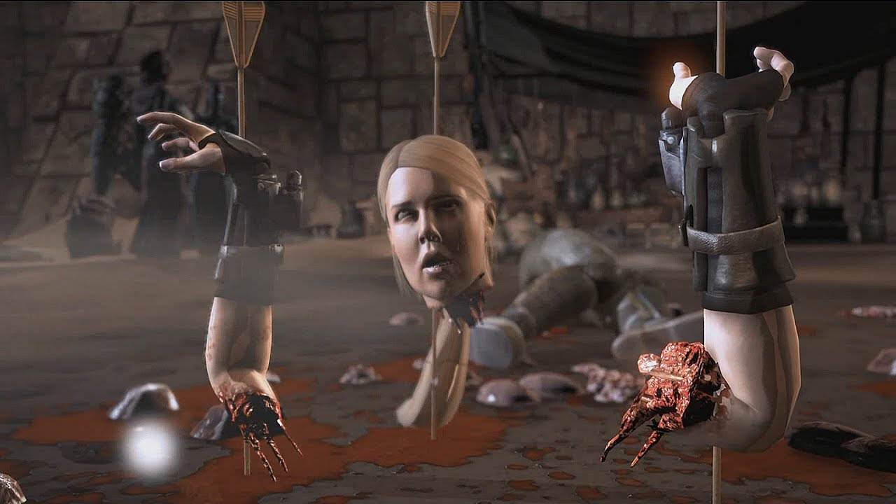 1080p Wallpaper Girl Feet Mortal Kombat X All Fatalities On Sonya Blade Major
