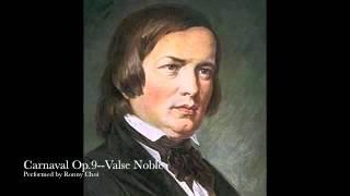 Schumann Carnaval--Valse Noble