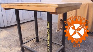 Build A Drop In Place Work Surface