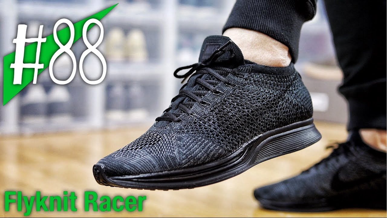 5a85670ad3d9f ... Triple Black Profile 88 - NIKE FLYKNIT RACER Get Ready For ...