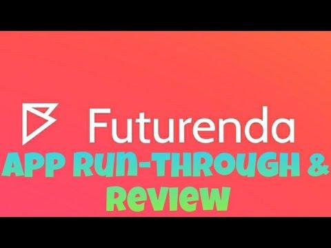 Futurenda App Run-Through & Review | Android Version
