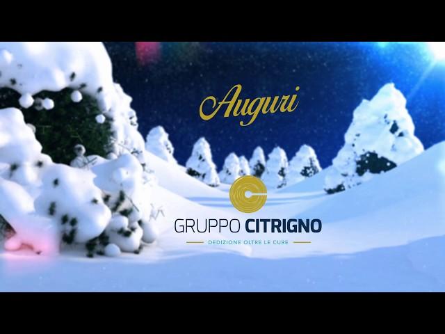 Auguri di Buone Feste da Gruppo Citrigno, Villa Adelchi e Centro Clinico S.Vitaliano