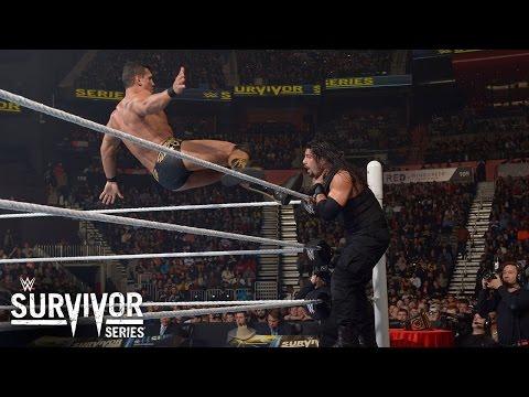 Roman Reigns Vs. Alberto Del Rio – WWE World Heavyweight Championtitel Turnier: Survivor Series 2015