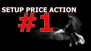 Price action setup linhas de tendência, suporte, resistência - estratégia #1