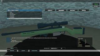Roblox - Phantom Forces Beta - Remington 700 sniper gameplay