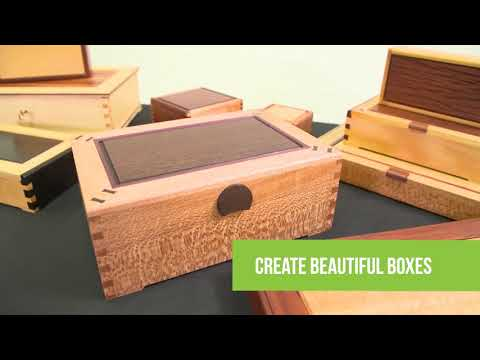 Create beautiful boxes using the Gifkins Dovetail Jig