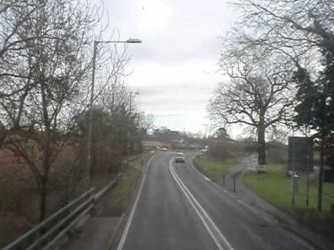Stagecoach 16614 on U1 from University of Warwick to Leamington Spa