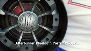 Afterburner Bluetooth® Portable Speaker from ThinkGeek