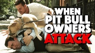 How to Defend Yourself Against a Pit Bull Owner Attack (ft Vinny Guadagnino)
