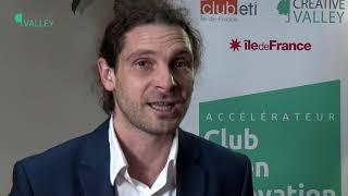 """Interview Yann GOZLAN - Lancement du Programme """"Accélérateur Club Open Innovation ETI"""" - 25/09/2019"""